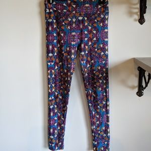 LuLaRoe Pants - Bright geometric Lularoe leggings OS